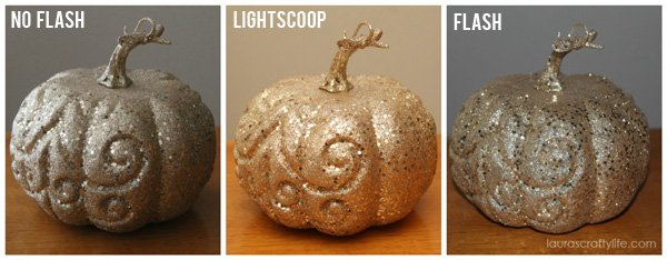 Gold Pumpkins Lightscoop Comparison
