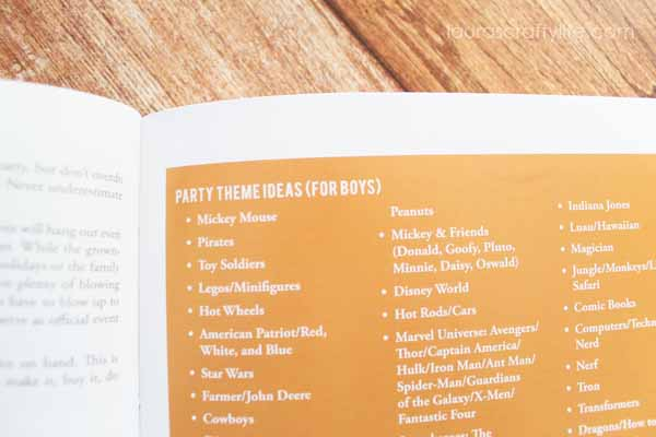 Party themes for boys and girls - Party Style