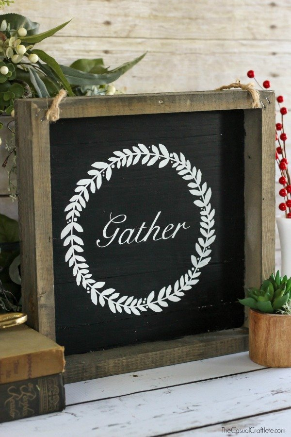 Rustic-White-and-Black-Wood-Plank-Sign-