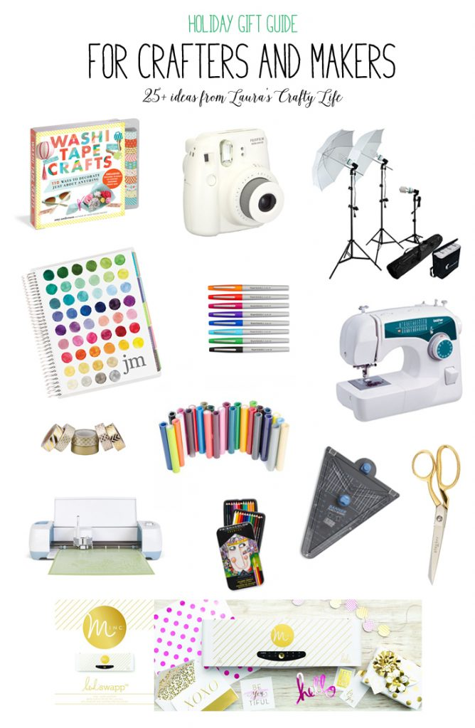 Ultimate Crafter's Gift Guide - 25+ ideas!