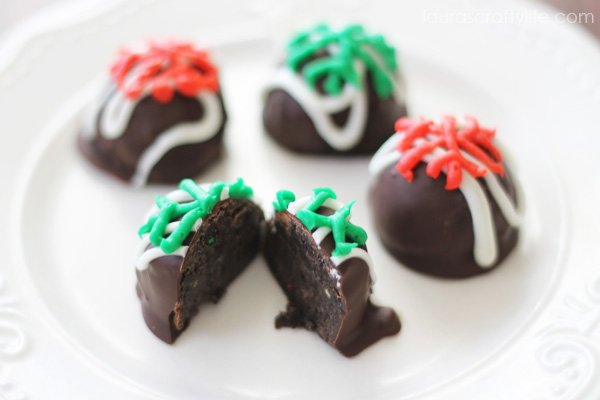 Birthday Cake OREO Cookie Balls