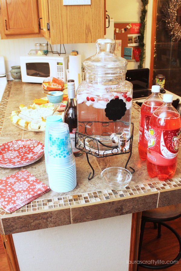 Drinks for cookie exchange