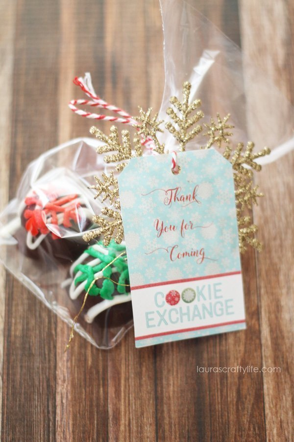 OREO Cookie Balls Cookie Exchange Favors #OREOCookieBalls