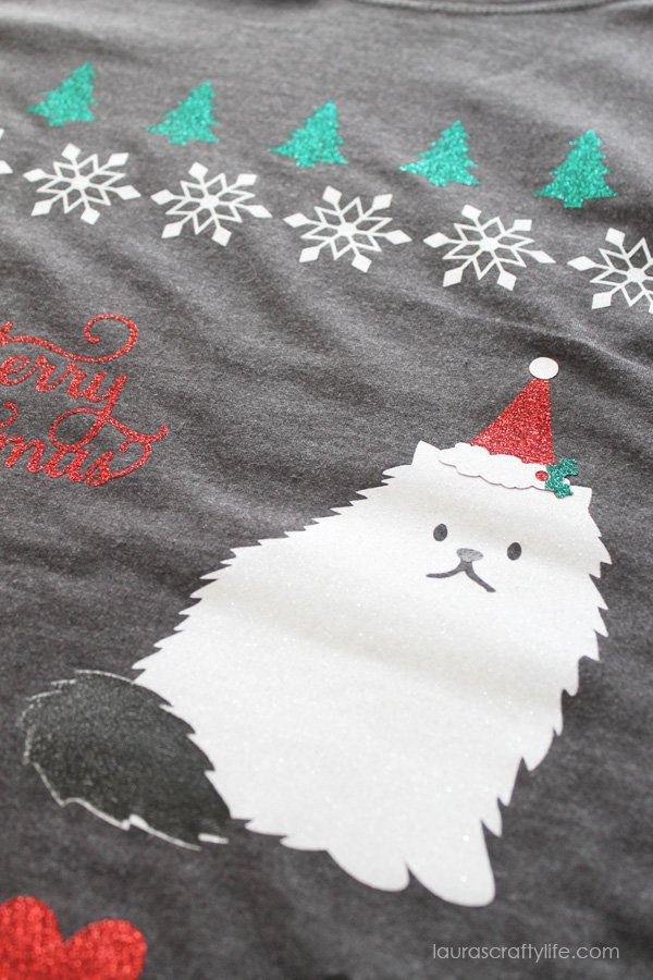 Ugly Christmas Cat Sweater Shirt