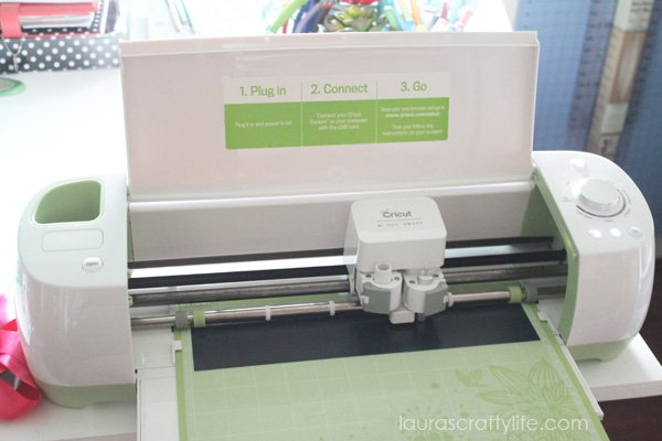 Use Cricut Explore to cut iron-on vinyl