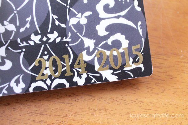 Add years to notebook using vinyl