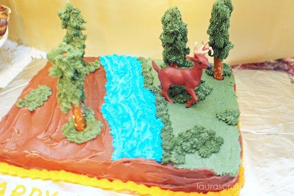 Camo cake - Laura's Crafty Life