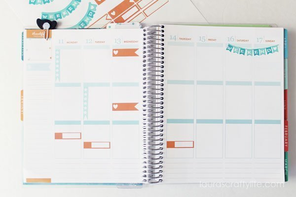 How to Make Stickers for your Planner with the Cricut Explore