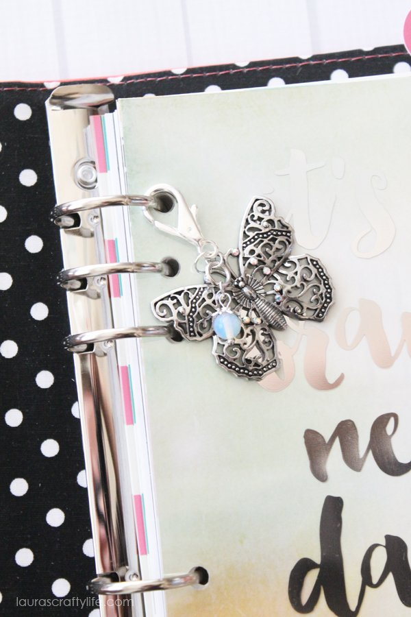How to make a planner charm for the Carpe Diem planner