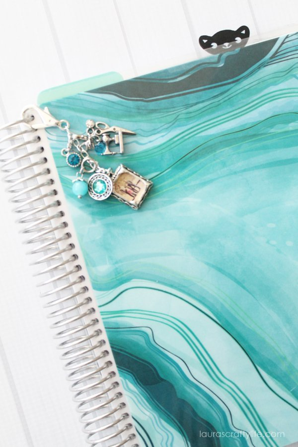How to make a planner charm for the Erin Condren Life Planner