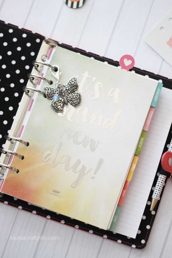 How to make planner charms for your planner - Laura's Crafty Life