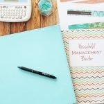 household management binder set up