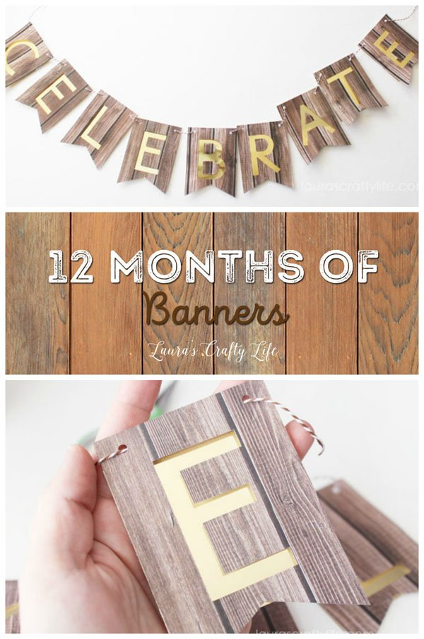 January Celebrate Banner - 12 Months of Banners