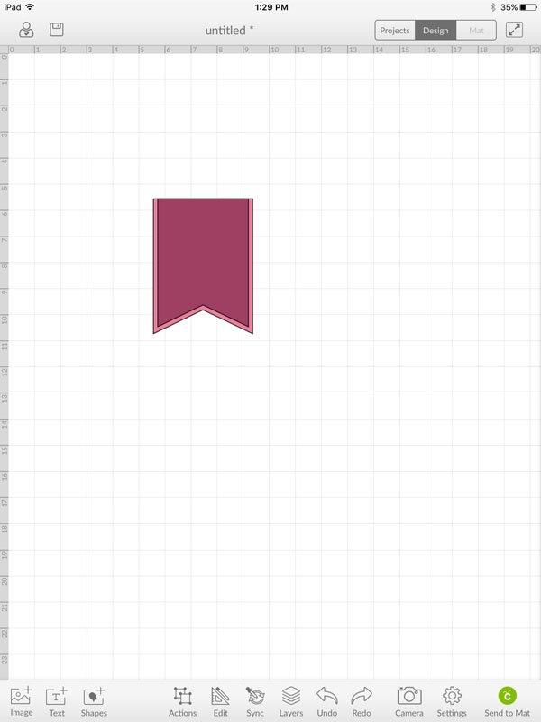Something to Celebrate Flag - Cricut Design Space