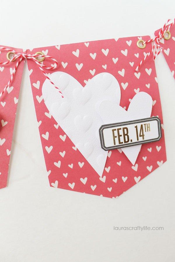 February 14 Heart Banner