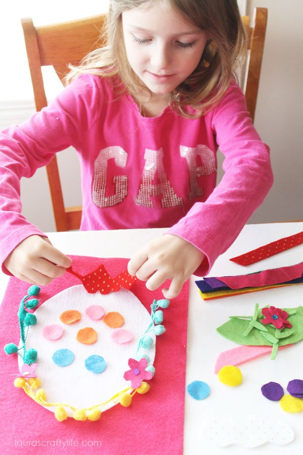 Felt Easter Egg Kid's Activity