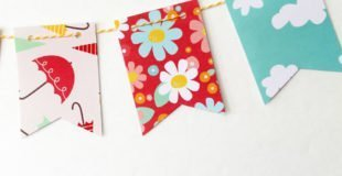 April Showers Bring May Flowers Mini Banner