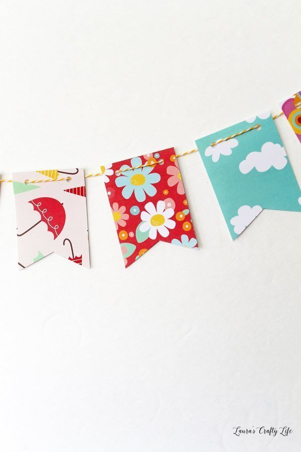 April Showers Bring May Flowers Mini Banner Laura S