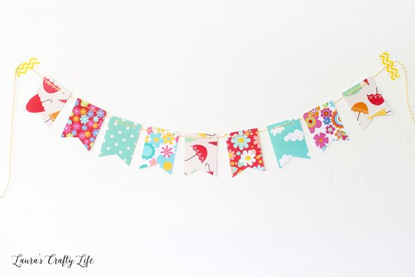 April showers bring may flowers mini banner lauras crafty life april showers bring may flowers mini banner mightylinksfo