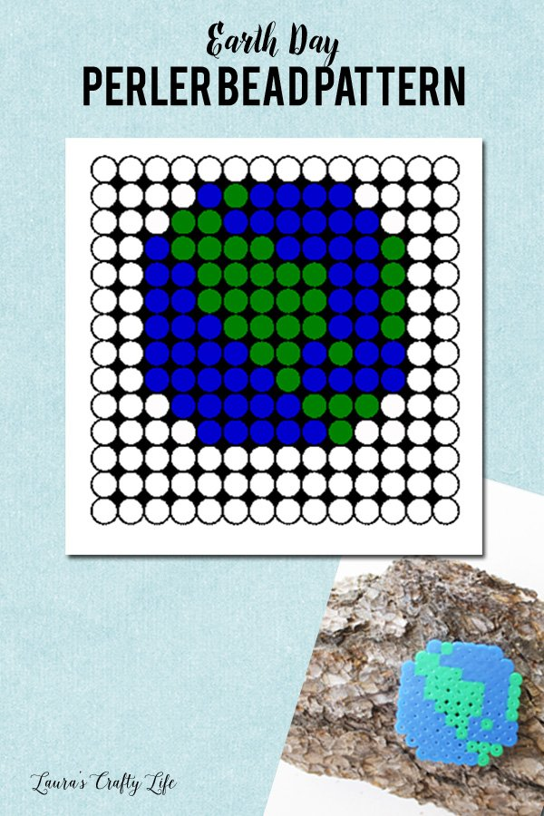 Earth Day Perler Bead Pattern