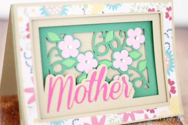 Mother's Day Shadow Card