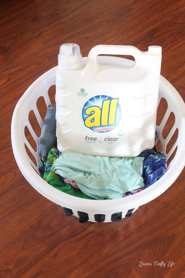 all free clear laundry detergent - simplify your laundry routine