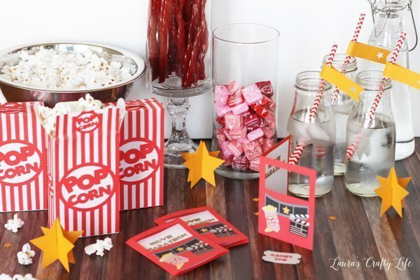 Movie Marathon made with Cricut Explore