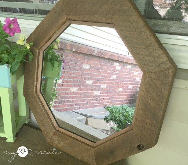 Semi front view of mirror, MyLove2Create