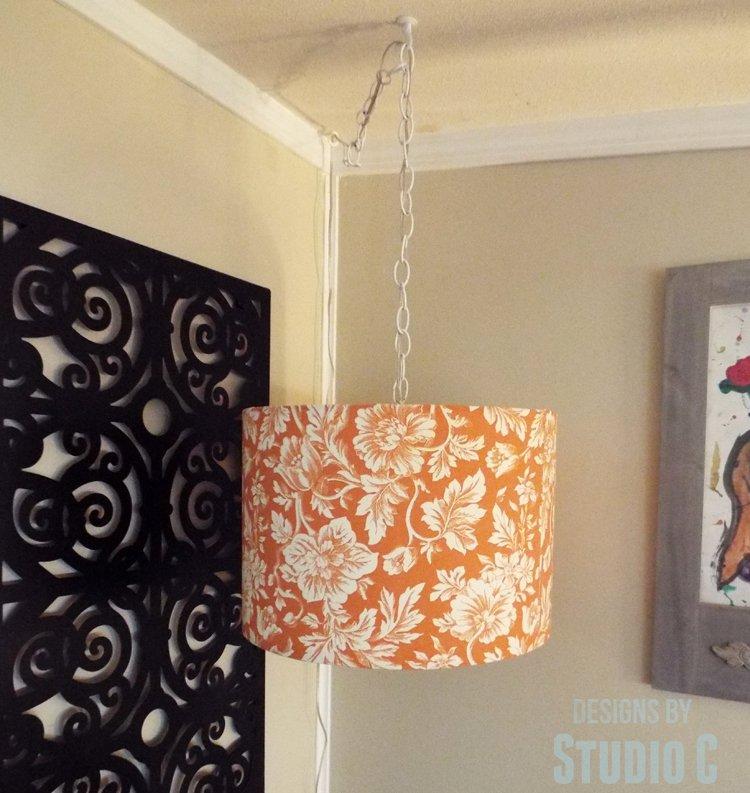 DIY Hanging Light