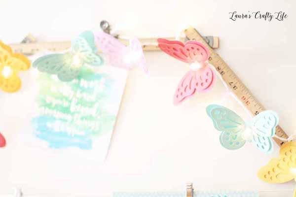 DIY Party Die Cut butterflies by We R Memory Keepers