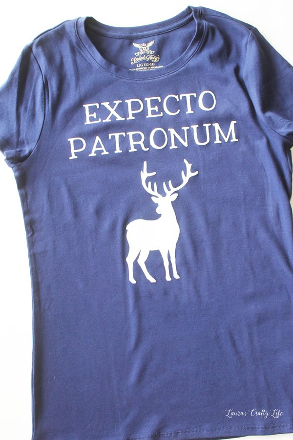 Expecto Patronum Harry Potter shirt - Laura's Crafty Life