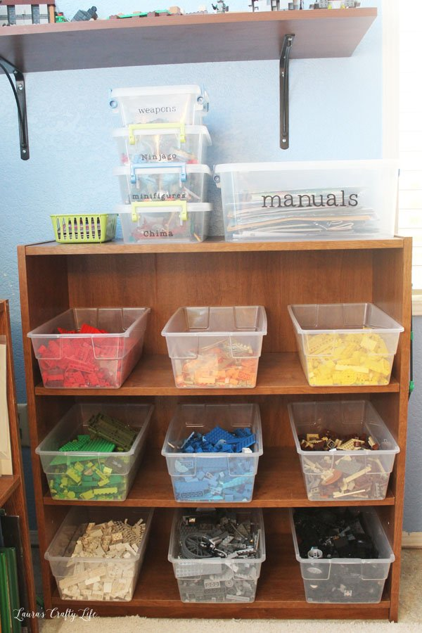 How to store and organize LEGOs