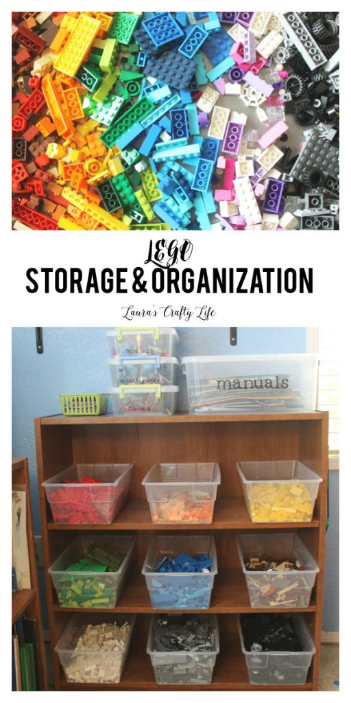 LEGO Storage and Organization ideas - Laura's Crafty Life
