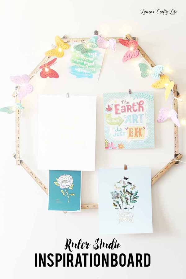 Ruler Studio Inspiration Board with We R Memory Keepers Ruler Studio
