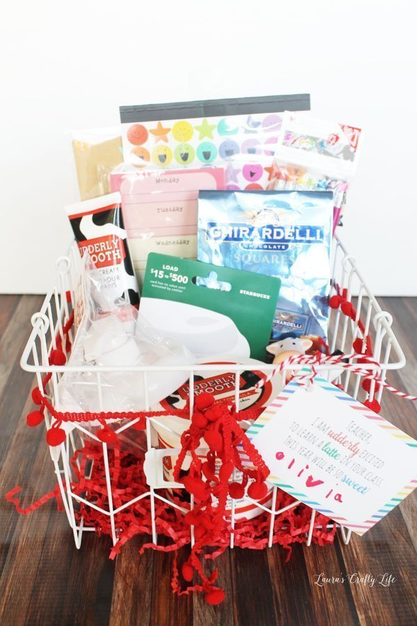 Back to School Teacher gift with Udderly Smooth