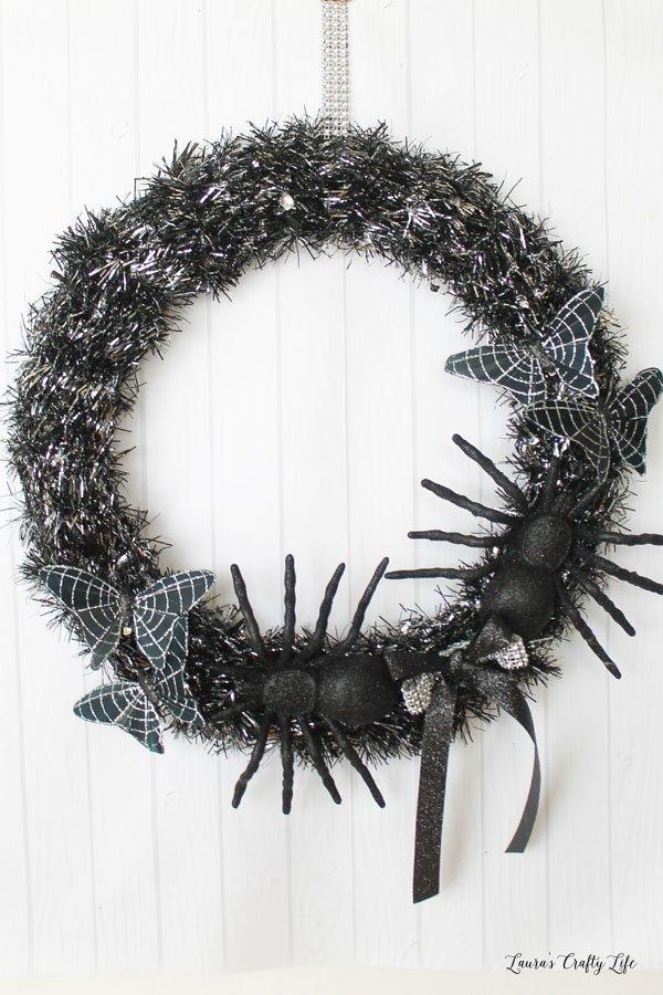 10 Minute Halloween Wreath