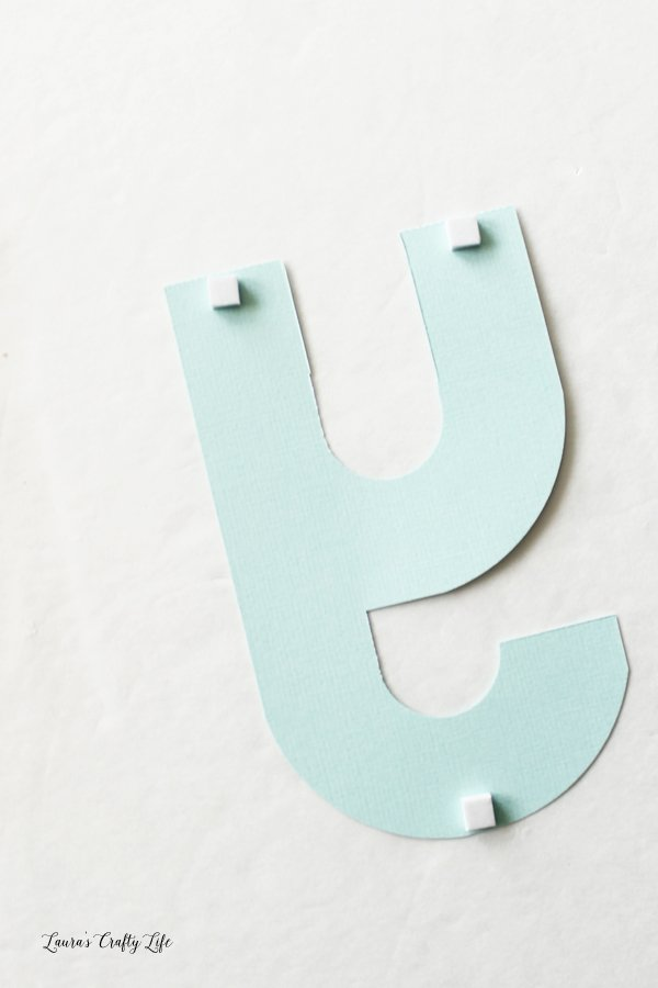 add-adhesive-foam-squares-to-letters-to-attach-to-banner