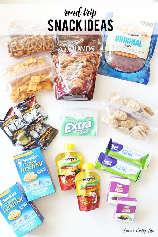 Road trip snack ideas for traveling with kids
