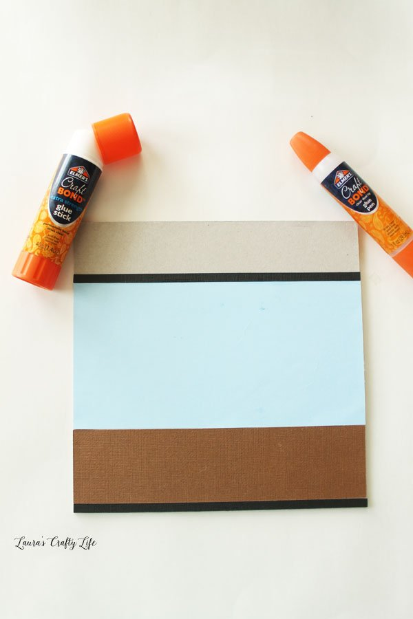 glue-cut-out-cardstock-to-cinch-board