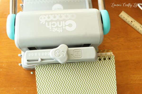 use-cinch-tool-to-bind-book-together