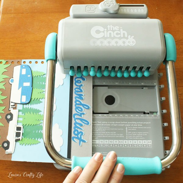 use-cinch-tool-to-cut-holes-in-cover-and-paper
