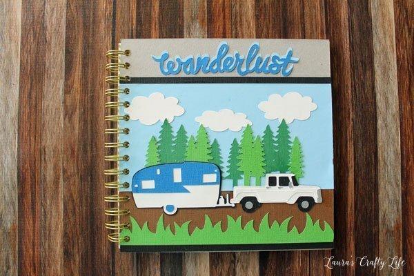 wanderlust-camping-memory-book