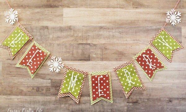 December Be Merry Banner