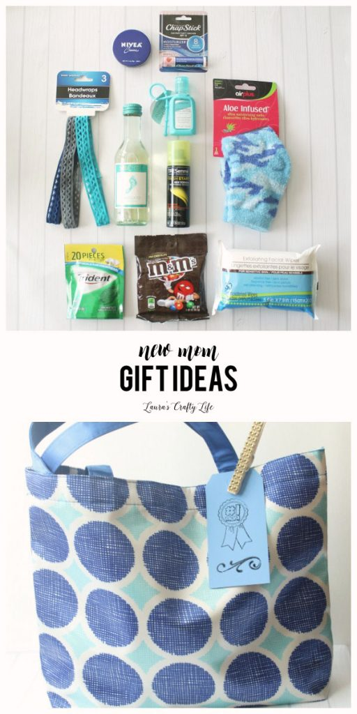 New mom gift ideas - lots of great ideas for how to pamper a new mom after she has her baby.