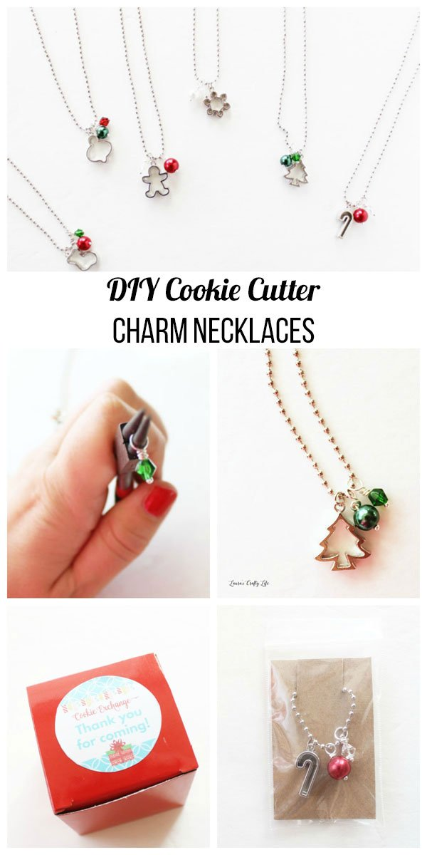 cookie cutter charm necklace DIY