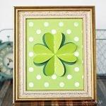 four leaf clover art