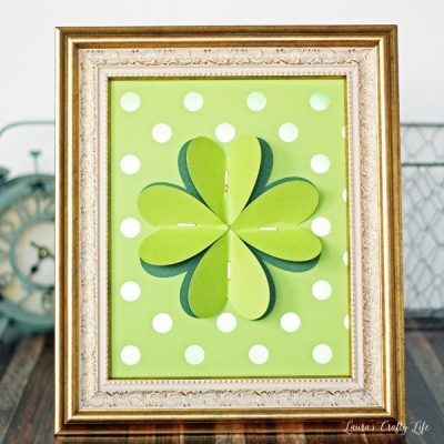four leaf clover art