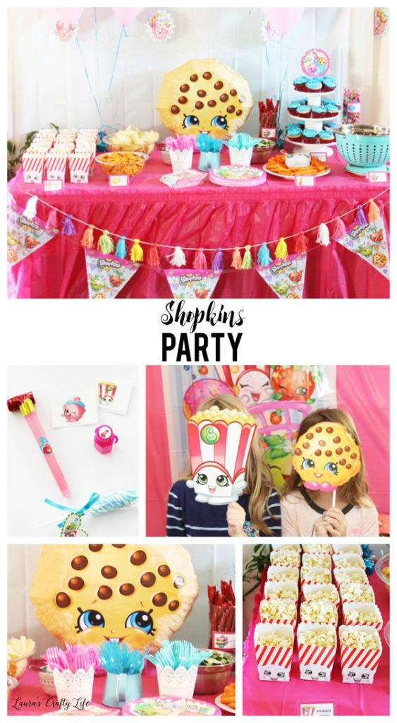 Shopkins Party Laura S Crafty Life