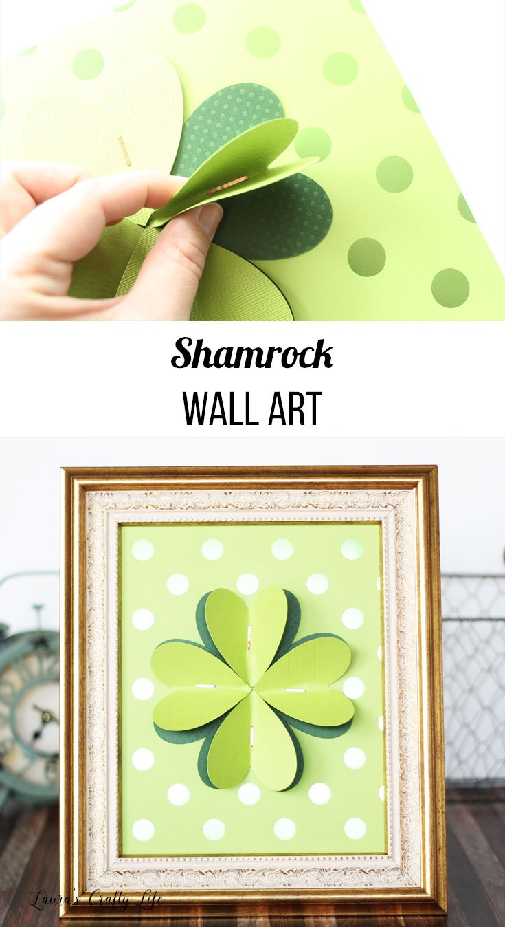 shamrock wall art