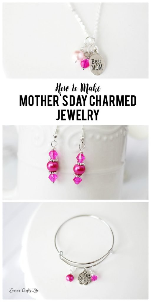 How to Make Mother's Day Charm Jewelry Tutorial